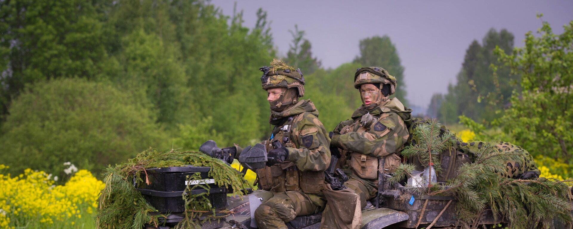 Военные учения Saber Strike 2017 - Sputnik Латвия, 1920, 27.08.2018