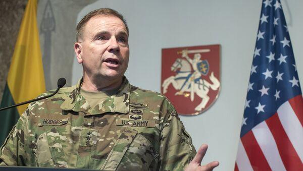 ASV Sauszemes spēku komandieris Bens Hodžes. Foto no arhīva - Sputnik Latvija