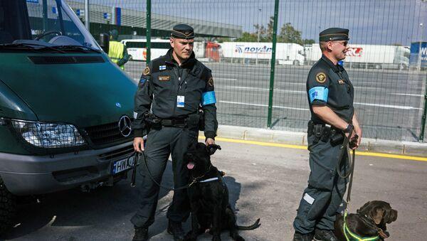 Somijas robežsargi - Sputnik Latvija