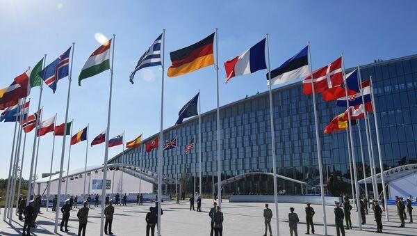 Флаги стран членов НАТО - Sputnik Латвия