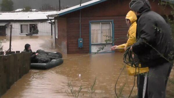 Наводнение в Чили - Sputnik Латвия