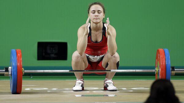 Тяжелоатлет Ребека Коха - Sputnik Латвия