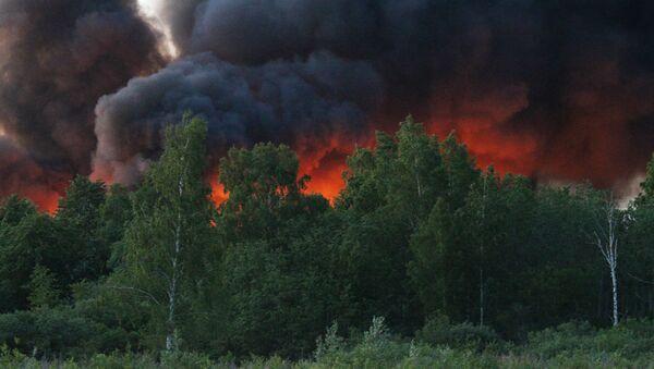 Пожар на станции сортировки и переработки мусора в Юрмале - Sputnik Латвия