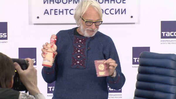 Pjērs Rišārs Maskavā paskaidroja, kāpēc atceltas izrādes Krimā - Sputnik Latvija