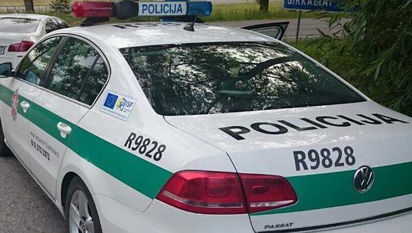 Полицейский автомобиль в Литве - Sputnik Латвия