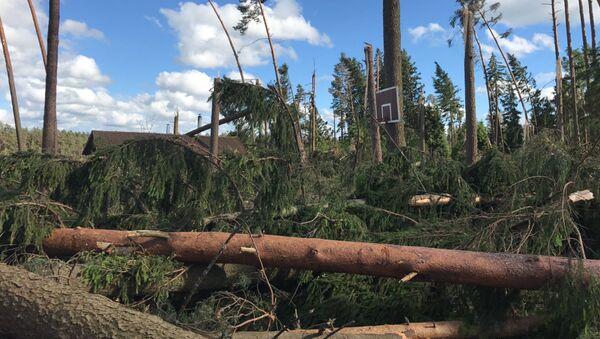 Ураган в Сигулде, 20 июня 2017 - Sputnik Latvija