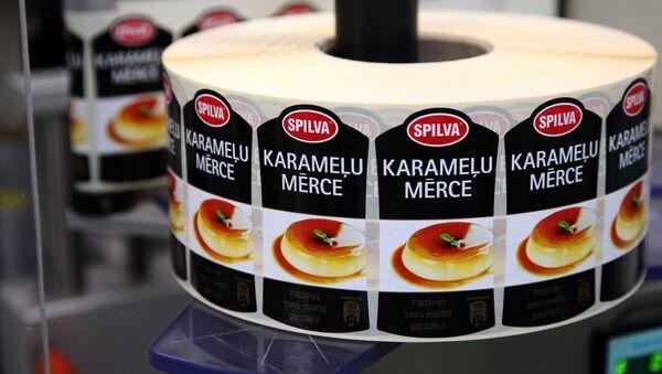 На производстве продукции Spilva - Sputnik Латвия