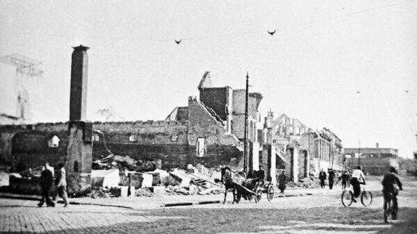 Разрушенный город Лиепая - Sputnik Латвия