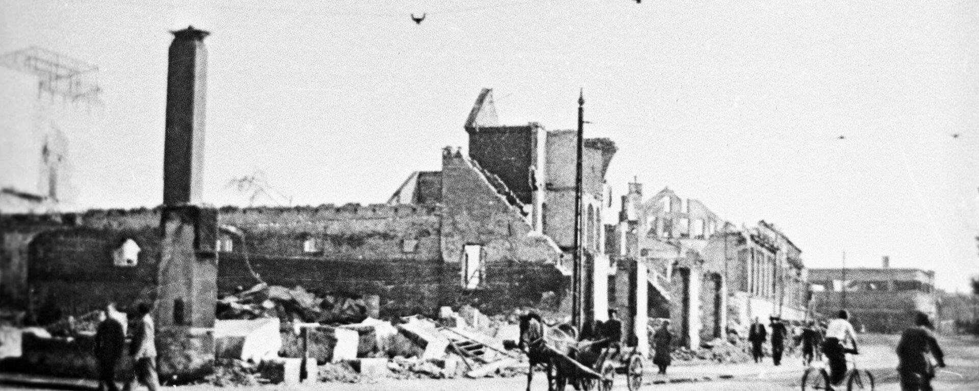 Разрушенный город Лиепая - Sputnik Латвия, 1920, 22.06.2017