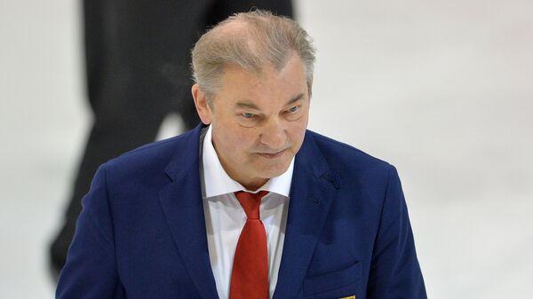 Президент Федерации хоккея России Владислав Третьяк - Sputnik Латвия