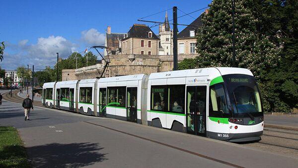 Трамвай в Нанте - Sputnik Латвия