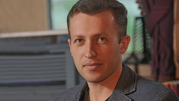 Директор Института национальной энергетики Сергей Правосудов - Sputnik Latvija