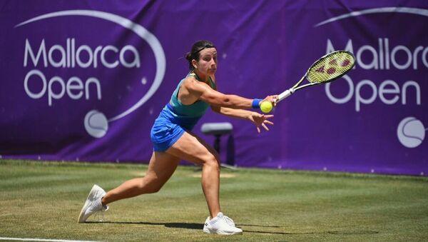 Анастасия Севастова в матче 2 круга Mallorca Open - Sputnik Латвия