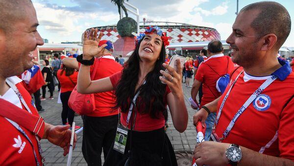 Стадион Спартак перед матчем Кубка конфедераций-2017 Камерун -Чили - Sputnik Латвия