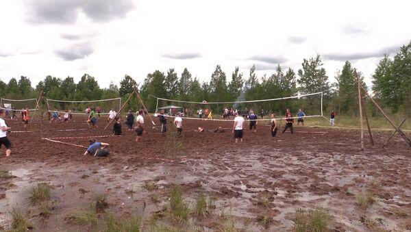 Волейбол в грязи - Sputnik Латвия