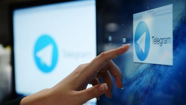 Мессенджер Telegram - Sputnik Латвия