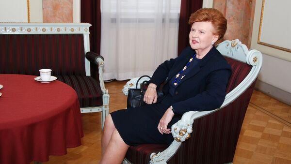 Экс-президент Латвии Вайра Вике Фрейберга, архивное фото - Sputnik Латвия