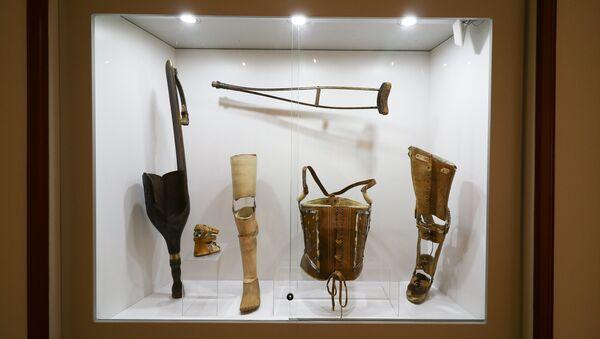 Экспозиция в Музее истории медицины - Sputnik Latvija