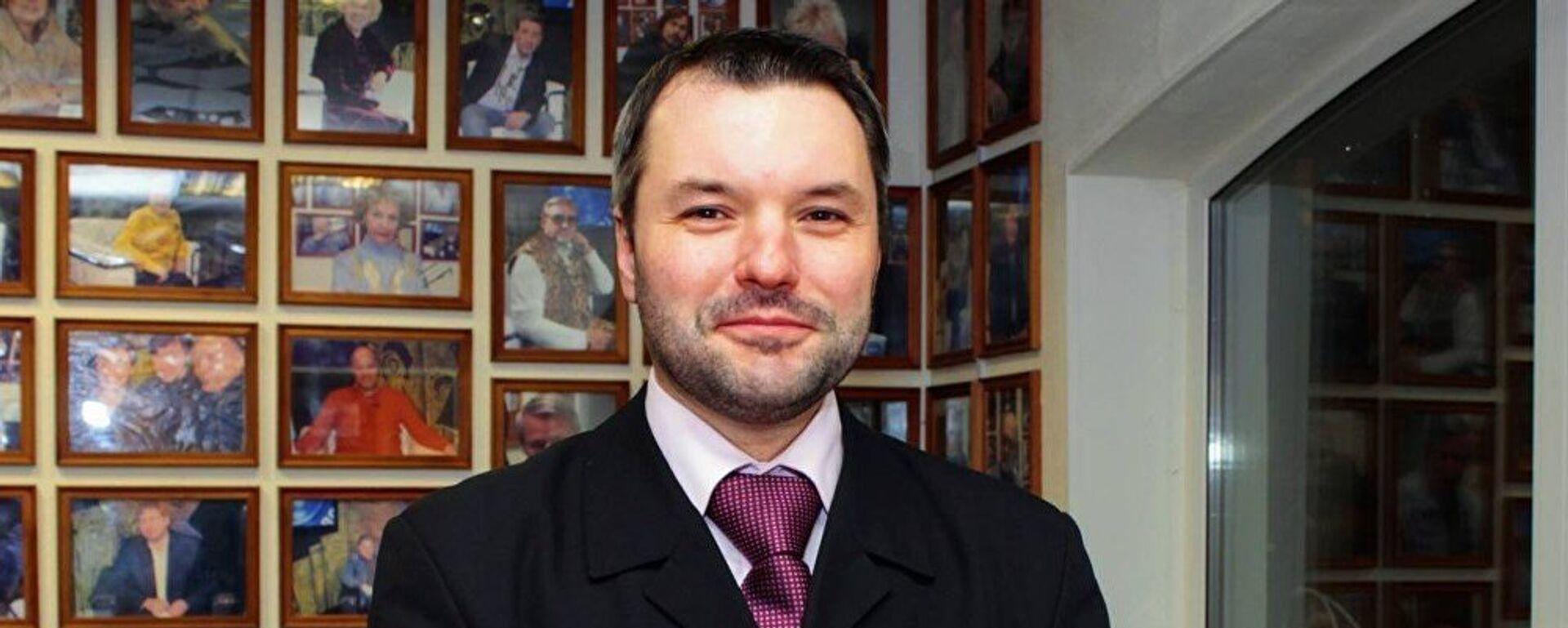 Эксперт Дмитрий Солонников - Sputnik Латвия, 1920, 07.04.2021