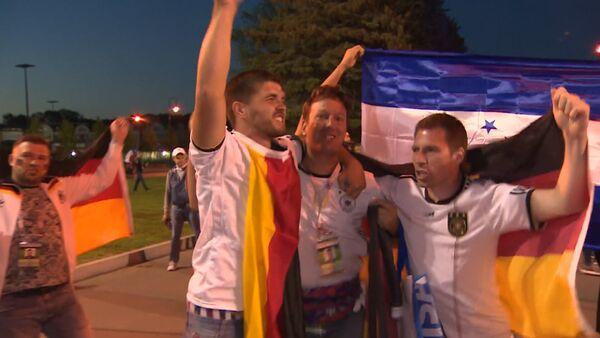 Фанаты после финала Кубка конфедераций - Sputnik Латвия