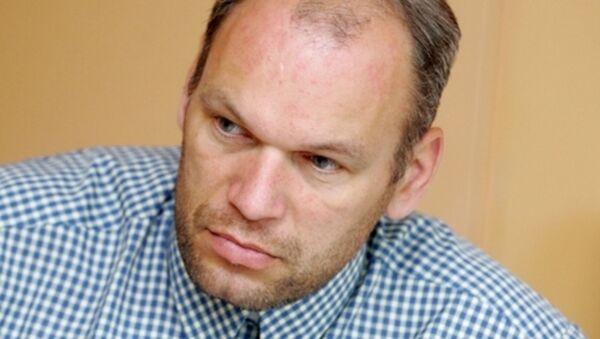 Латвийский политический обозреватель Кристианс Розенвалдс - Sputnik Латвия