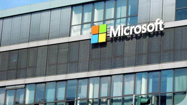 Логотип компании Microsoft - Sputnik Латвия