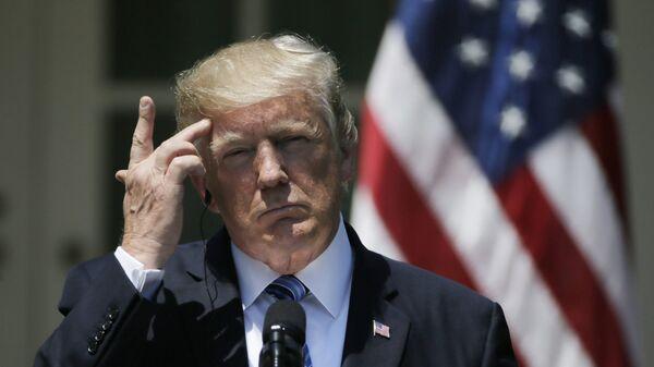 Президент США Дональд Трамп - Sputnik Латвия