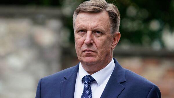 Премьер-министр Латвии Марис Кучинскис - Sputnik Latvija