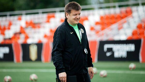 Латвийский футбольный тренер категории Про-УЕФА Юрий Анатольевич Нагайцев - Sputnik Латвия