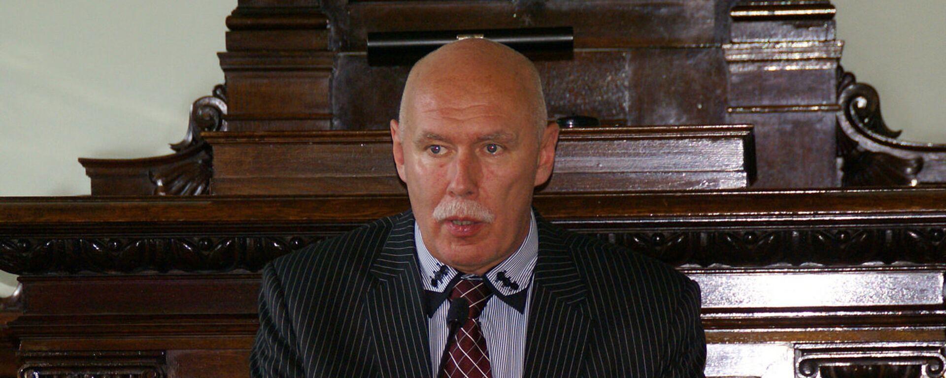 Петерис Апинис, экс-руководитель Латвийского общества врачей, главный редактор журнала Латвийский врач - Sputnik Латвия, 1920, 27.05.2020