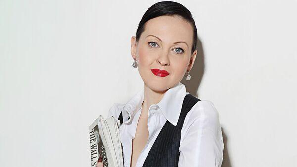Ольга Князева - экономист, редактор русскоязычного портала Dienas Bizness - Sputnik Латвия