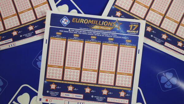 Билет лотерея EuroMillions-My Million, архивное фото - Sputnik Latvija