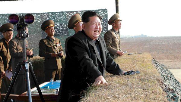 Ziemeļkorejas līderis Kims Čenuns - Sputnik Latvija