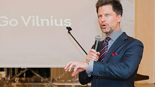 Экс-сотрудник Вильнюсской мэрии Дариус Удрис - Sputnik Латвия