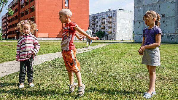 Дети в Лиепаи - Sputnik Латвия