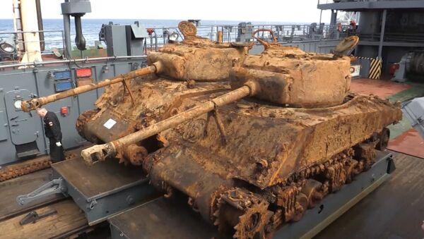 Американские танки времен ВОВ - Sputnik Латвия