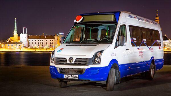 Латвийская компания Rigas mikroautobusu satiksme - Sputnik Latvija