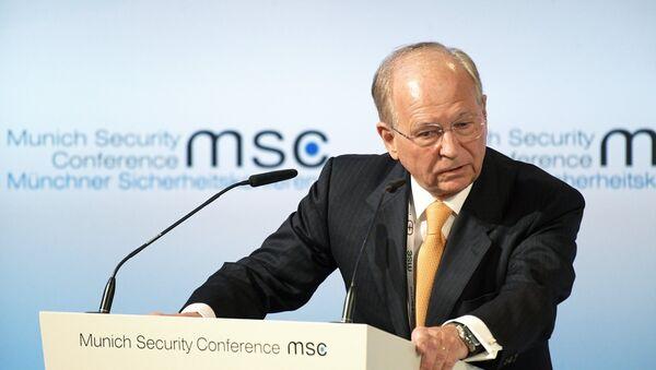 Minhenes ikgadējās drošības konferences vadītājs Volfgangs Išingers - Sputnik Latvija