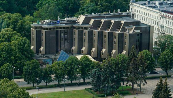 Гостиница Ридзене (Рижанка), в которой проходила прослушка переговоров, фигурирующих в деле олигархов - Sputnik Латвия