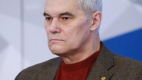 Член корреспондент Российской академии ракетно-артиллерийских наук, доктор военных наук Константин Сивков - Sputnik Латвия
