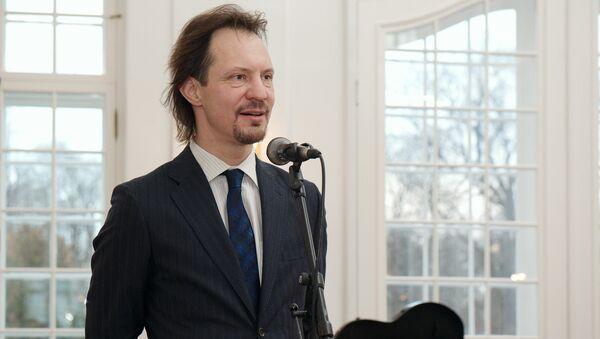 Министр культуры Эстонии Индрек Саар - Sputnik Латвия