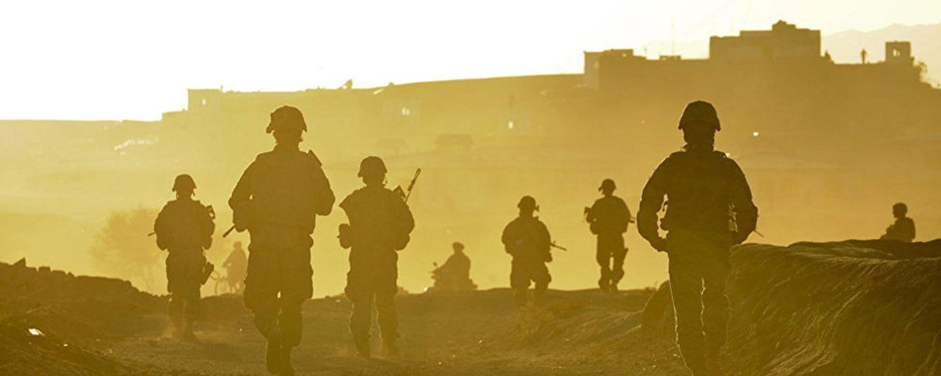 Американские военнослужащие в Афганистане - Sputnik Latvija, 1920, 23.01.2021