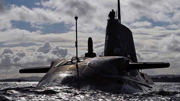 Британская атомная подводная лодка Ambush - Sputnik Латвия