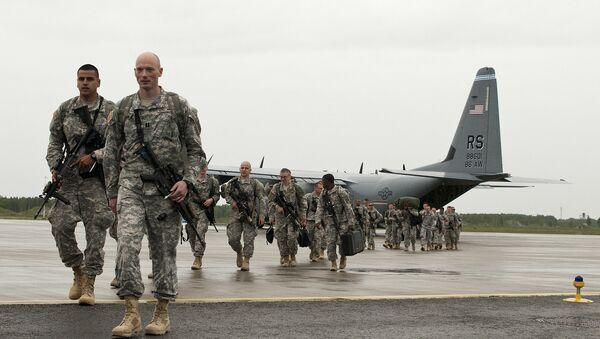 NATO karavīri Emari aviobāzē Igaunijā - Sputnik Latvija