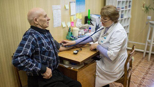 Medicīniskā izmeklēšana. Foto no arhīva - Sputnik Latvija