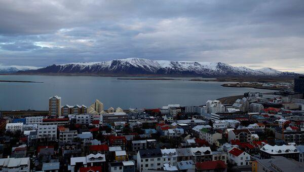 Islandes galvaspilsēta Reikjavika. Foto no arhīva - Sputnik Latvija