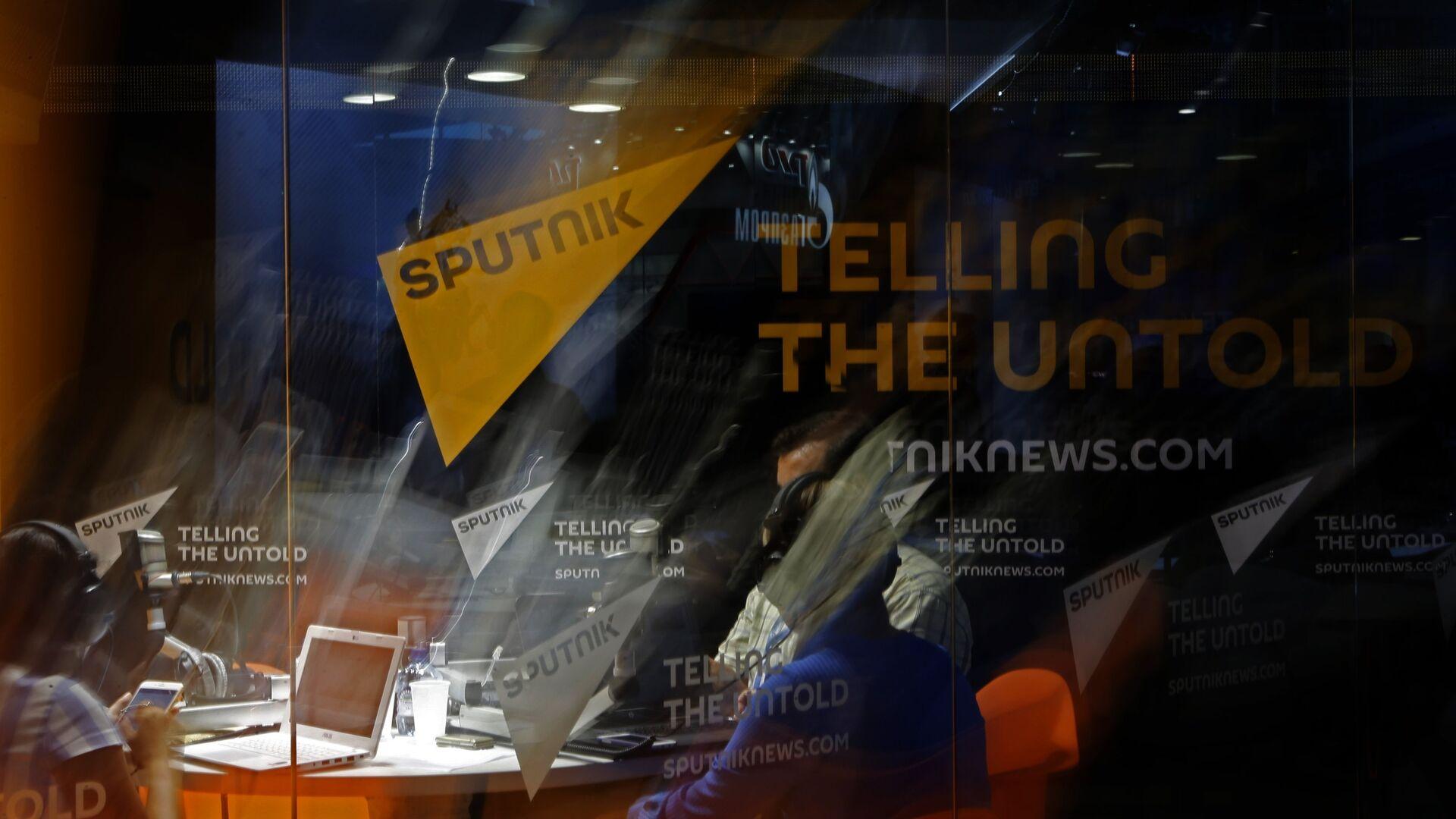 Студия радио Sputnik - Sputnik Латвия, 1920, 03.06.2021