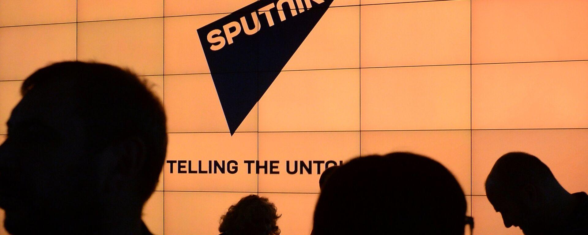 Логотип международного информационного бренда Sputnik - Sputnik Латвия, 1920, 03.05.2021