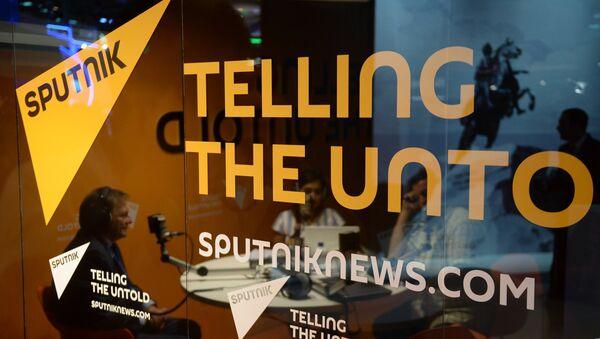 Студия радио Sputnik - Sputnik Латвия