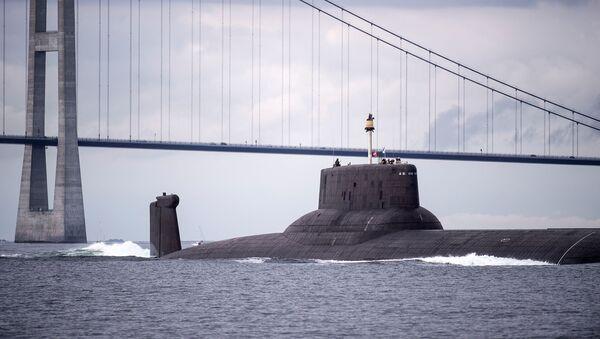 Атомный подводный ракетный крейсер Дмитрий Донской - Sputnik Латвия